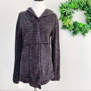 Lululemon 2 sweater hoodie wrap gray